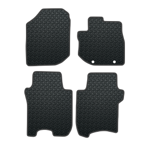 Honda Jazz With Driver Fixings (2008-2011) Rubber Mats
