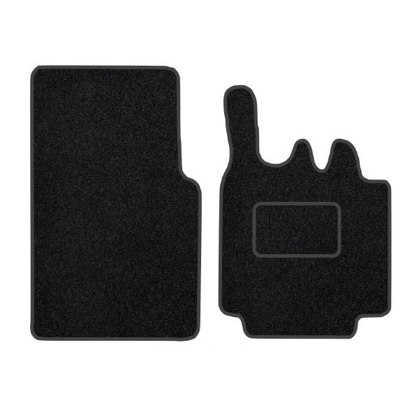 Smart For Two 2 Pce (2003-2007) Carpet Mats