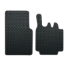 Smart For Two 2 Pce (2003-2007) Rubber Mats