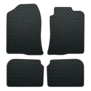 Toyota Avensis No Clips (2003-2009) Rubber Mats
