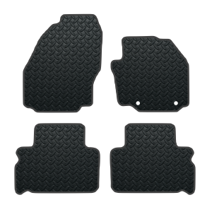 Ford S Max With Oem Hole Locations (2010-2011) Rubber Mats