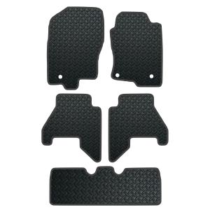 Nissan Pathfinder 7 Seat (2010-Present) Rubber Mats