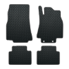 Mercedes A Class With Driver Fixings (2005-2012) Rubber Mats