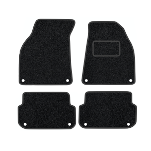 Audi A6 (Not Quattro) With 8 Clips (2004-2009) Carpet Mats