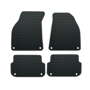 Audi A6 (Not Quattro) With 8 Clips (2004-2009) Rubber Mats