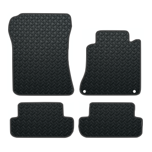 Mercedes Clk With Driver Fixings (2003-2009) Rubber Mats