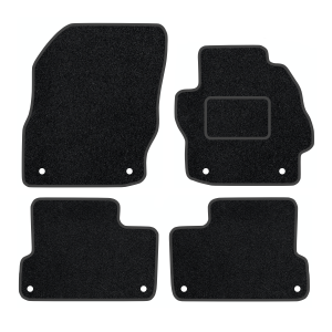 Mazda 3 With Clips (2009-2013) Carpet Mats