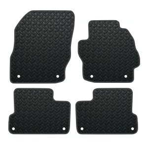 Mazda 3 With Clips (2009-2013) Rubber Mats