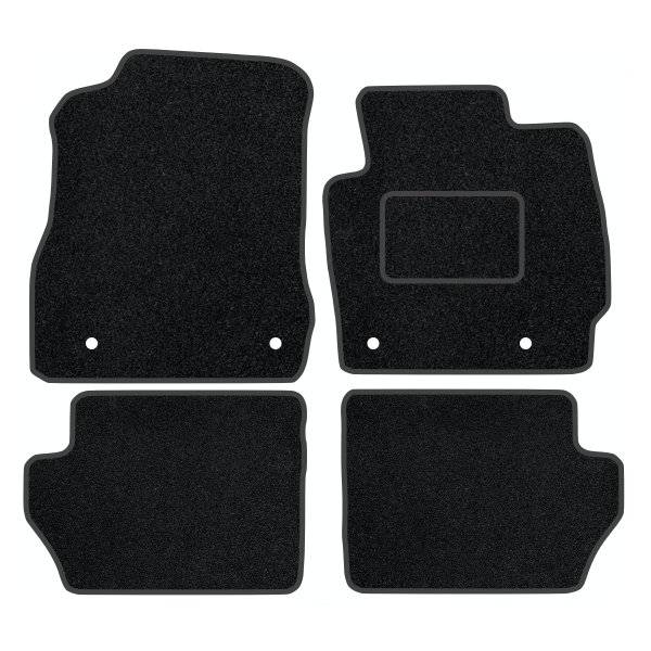 Mazda 2 With Clips (2007-2015) Carpet Mats