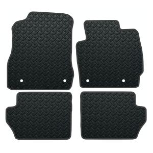 Mazda 2 With Clips (2007-2015) Rubber Mats