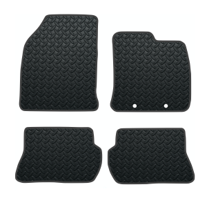 Ford Fiesta Mk6 With Oem Hole Locations (2002-2008) Rubber Mats