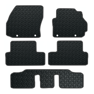 Mazda 5 5 Pce With Fixings (2011-Present) Rubber Mats