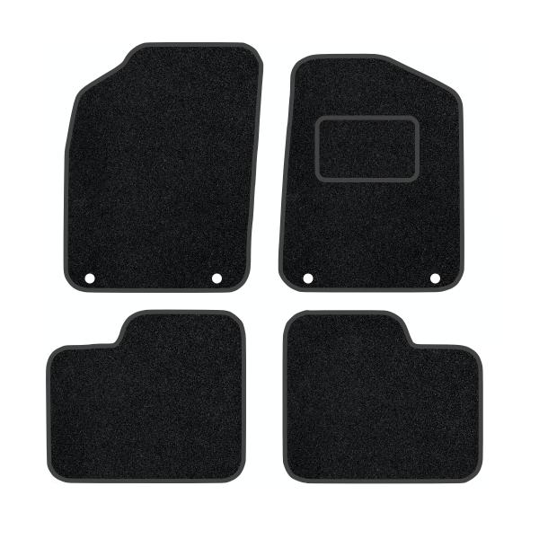 Fiat 500 With Twin Fixing Driver/Passenger (2012-Present) Carpet Mats