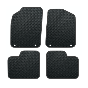Fiat 500 With Twin Fixing Driver/Passenger (2012-Present) Rubber Mats