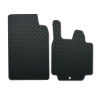 Smart For Two 2 Pce (2007-2014) Rubber Mats