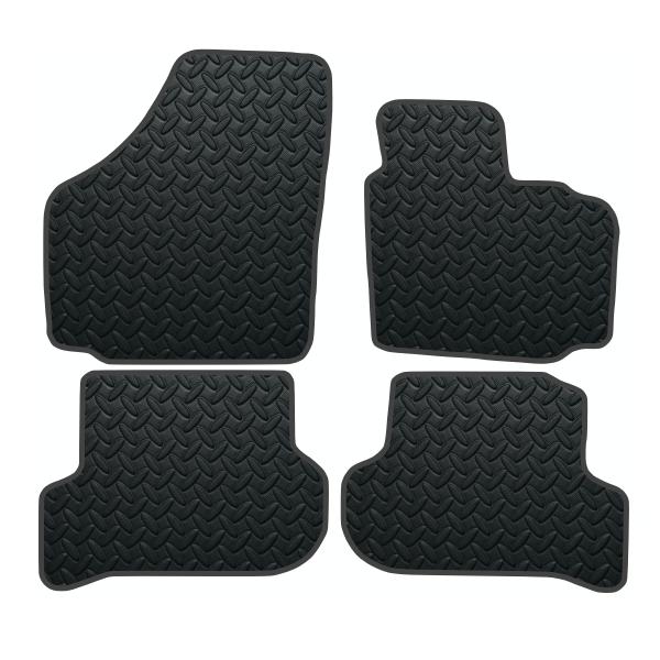 Seat Altea Xl Oval Clips (2006-Present) Rubber Mats