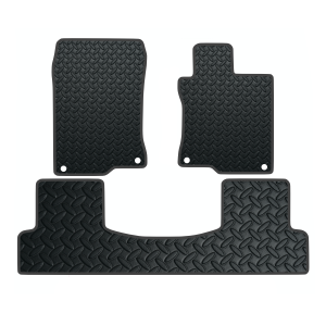 Honda Accord 1 Pce Rear Section (2008-Present) Rubber Taxi Mats