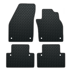 Volvo C30 Automatic With Clips (2006-2013) Rubber Mats