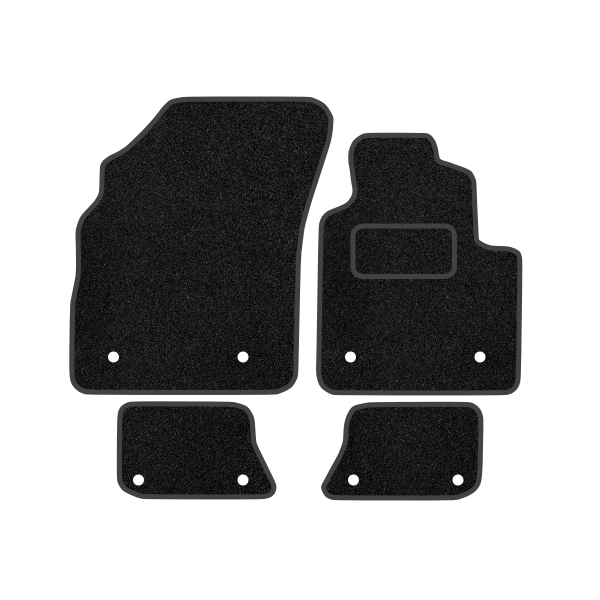 Bentley Continental Gt With Clips In Rear (2003-2010) Carpet Mats