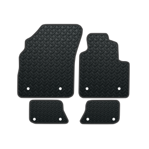 Bentley Continental Gt With Clips In Rear (2003-2010) Rubber Mats