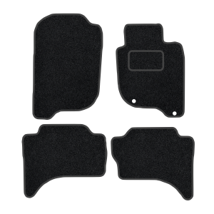 Fiat Fullback With Rear Heater Duct (2017-Present) Carpet Mats