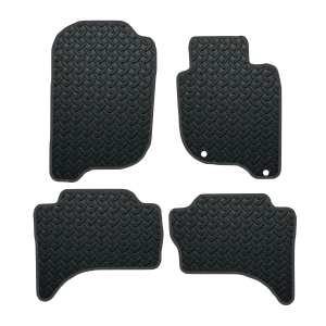 Fiat Fullback With Rear Heater Duct (2017-Present) Rubber Mats