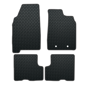 Dacia Duster With Passenger Seat Draw (2018-Present) Rubber Mats