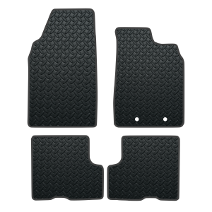 Dacia Duster Without Passenger Seat Draw (2018-Present) Rubber Mats